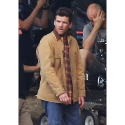 The Shack Sam Worthington Cotton Jacket